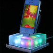 Beautiful color changing iPhone dock The Lavalamp for the 21st Century.