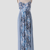 Ojai Valley Printed Maxi Dress