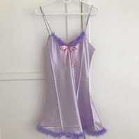 The Angel Baby Doll Night Gown / Lilac