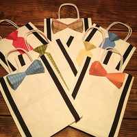 Bowtie and Tie Gift Bags -Medium Size-