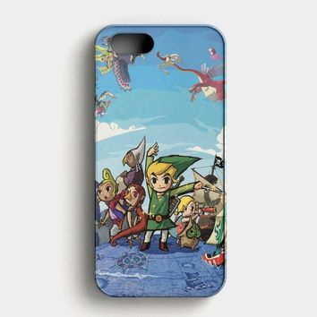 The Legend Of Zelda The Hero Of Time iPhone SE Case