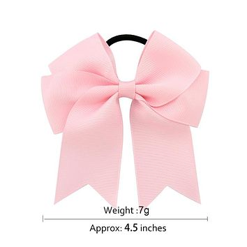 Baby Girl's Boutique Hair Rope Bow Grosgrain Ribbon Elastic Headband Color