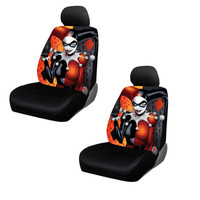 DC Comics Harley Quinn Seat Covers
