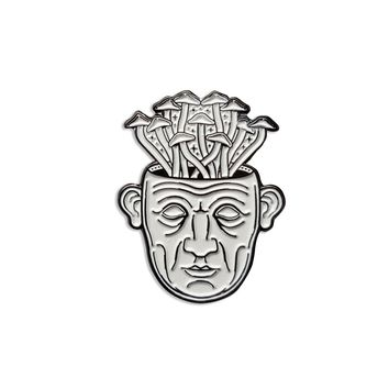 Golden Teacher Enamel Pin