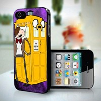 10287 Adventure Time Tardis dr Who - iPhone 4/4s Case
