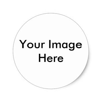 Personalized Photo Classic Round Sticker