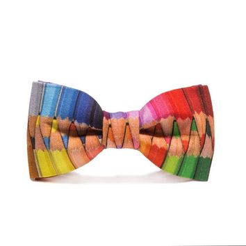 Kids Coloring Pencil Bow Tie
