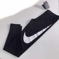 Nike Black Big Logo Leggings