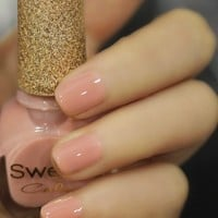 Milky Pink Sweet Color 12ml Nail Polish [589]