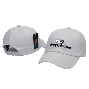 Whale Embroidered White Strapback Golf Casquette Southern Tide Fish Dad Baseball Cap Men Summer Hat Baseball Women Dolphin Cap