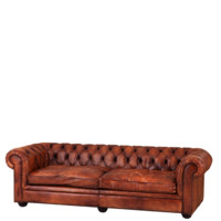 Eichholtz Club Gymnasium Sofa - Tobacco