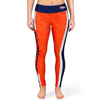 Denver Broncos Official NFL Stripe Leggings