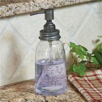 Large Mason Jar Soap Dispenser
