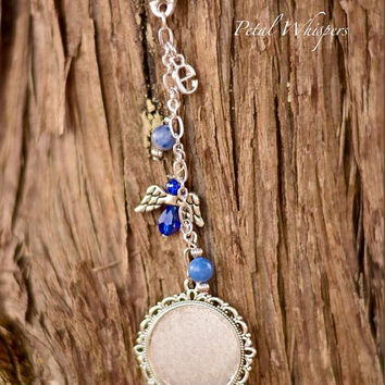 Monogram Bridal Bouquet Photo Charm, Bridal Gift,  Picture Charm, Wedding Bouquet Jewelry, Bridal Something Blue, Planner Photo Charm