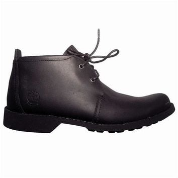 Timberland Earthkeepers City Lite Chukka - Black Leather Boot
