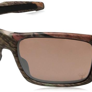Oakley Men's Turbine OO9263 Rectangular Sunglasses