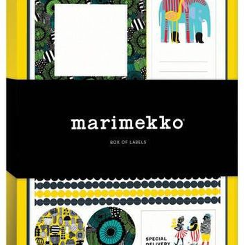 Marimekko Box of Labels (Hardcover)