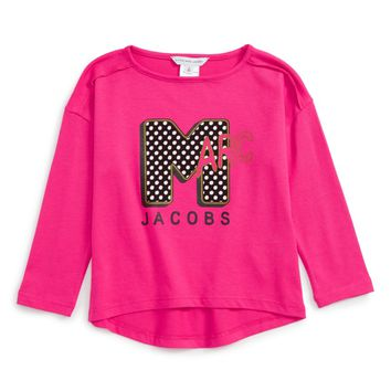 LITTLE MARC JACOBS Graphic Tee (Toddler Girls, Little Girls & Big Girls) | Nordstrom