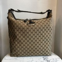 ONETOW Gucci Monogram Shoulder Bag