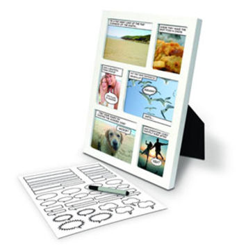 Comic Photo Frame | Boyfriend Gifts | Gift Ideas | Animi Causa Boutique
