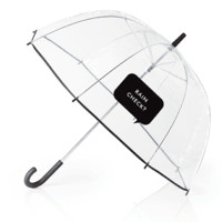 "Clear Umbrella With ""Rain Check?"" by Kate Spade New York - FINAL SALE"