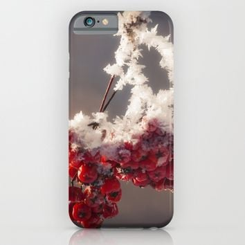 Berries in Ice iPhone & iPod Case by Cinema4design | Society6