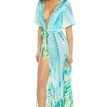 Arielle Sheer Robe/Coverup