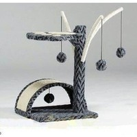 Go Pet Club Small Cat Tree Grey Tam Color