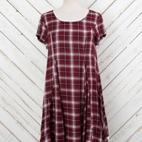 Altar'd State Baby-doll Plaid Dress | Altar'd State