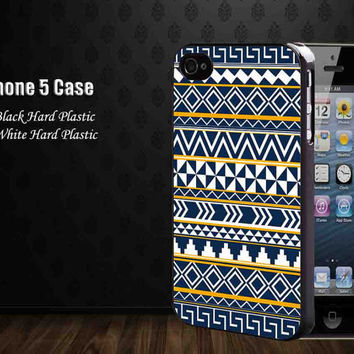 aztec blue yellow white ,Iphone 5 case,iphone 4,4S,samsung galaxy s2,s3,s4 cases, accesories case,cell phone