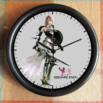 Final Fantasy XIII2  FF 13 10 inch Resin Wall by Backstreetcrafts