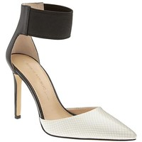 Banana Republic Womens Malory Elastic Strap Pump
