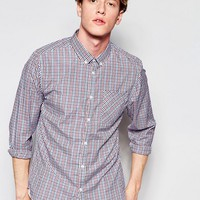 D-Struct Short Checked Shirt at asos.com