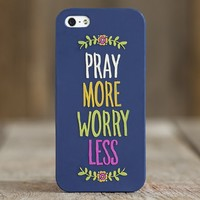 Cute  Phone  Covers:  Pray  More  iPhone  5  Cover  from  Natural  Life