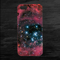 Rose Nebula Space Galaxy iPhone 4 and 5 Case