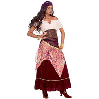 Forum Novelties Womens Madame Mystique Halloween Party Gypsy Costume
