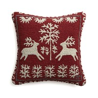 "Donner 18"" Pillow in Christmas Decorating 