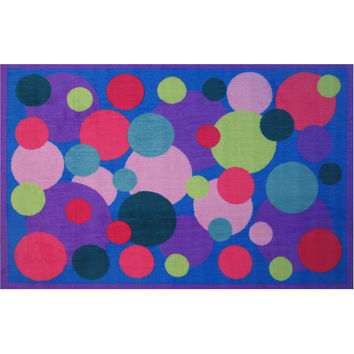 Fun Rugs Fun Time Collection Poppin' Bubbles Area Rug