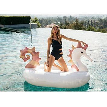 Giant Seahorse Inflatable Ride-On Pool Float