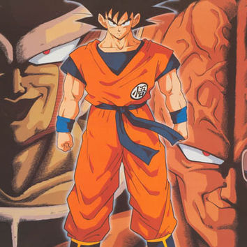 Dragon Ball Z Goku 1998 Anime Poster 22x34