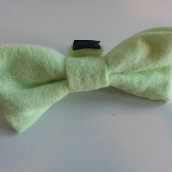 Dapper Doggie Bow Tie, Soft Green