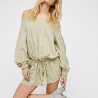 Free People This Is It Off The Shoulder Mini