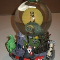 "Tim Burton's ""The Nightmare Before Christmas"" First Snow Globe (Snowglobe)"