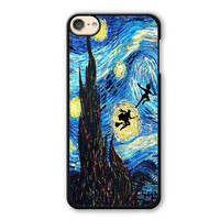 Peter Pan And Harry Potter Starry Night Phonecase Cover Case For Apple Ipod 4 Ipod 5 Ipod 6