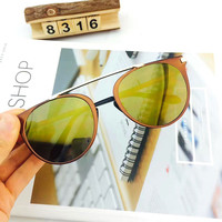 Metal Stylish Ladies Glasses Sunglasses [8838127885]