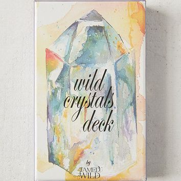 Tamed Wild Wild Crystals Card Deck | Urban Outfitters