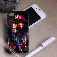 Doctor Who Tardis In Space for iPhone 4/4s, iPhone 5, 5s, 5c Case, Samsung Galaxy S3, S4 Case