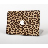 The Simple Vector Cheetah Print Skin Set for the Apple MacBook Pro 15""