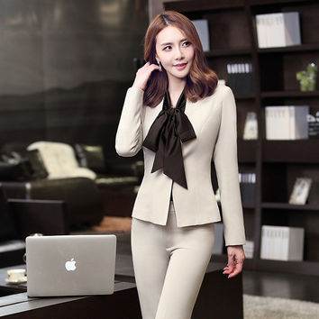 Female autumn and winter wear long-sleeved dress overalls suit chaps