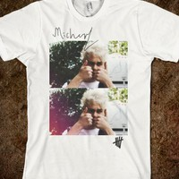 """THUMBS UP"" 5SOS MICHAEL CLIFFORD SIGNATURE SHIRT"
